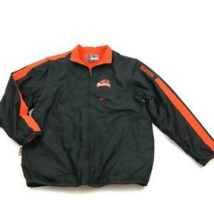 NEW Nike Oregon State BEAVERS Convertible Jacket Size L Fleece Lined Coat