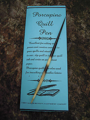 Porcupine Quill Pen, Spell Supplies Spells Book of shadows magic witchcraft