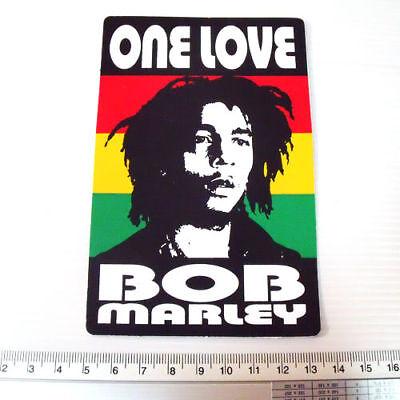 "Bob Marley Reggae Decals Sticker size 3x5/"""