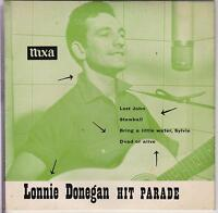 LONNIE DONEGAN - Hit Parade - 1957 Pye 4-track vinyl EP in picture sleeve