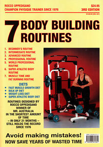 7-Body-building-Routines-Rocco-Oppedisano-Book