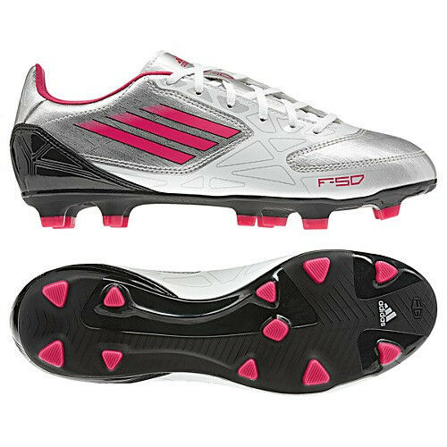 d62fb816a adidas Women F10 TRX FG Soccer Cleat Shoe Silver white pink G60181 5 1 2 6  5.5 for sale online