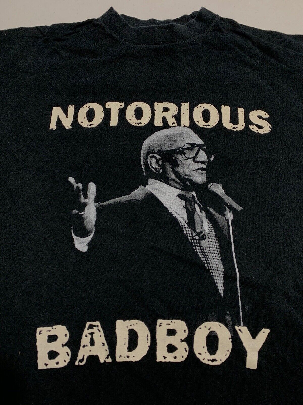 93 Red Foxx Notorious Bad Boy Sanford & Son T-shirt Fred Sanford Comedian Large