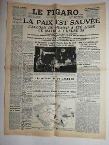 N831-La-Une-Du-Journal-Le-Figaro-30-septembre-1938-la-paix-est-sauvee-Munich