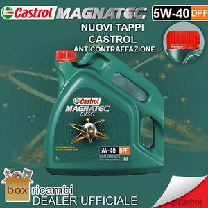 Olio-CASTROL-MAGNATEC-DIESEL-5W40-DPF-4-LT-Litri-UFFICIALE-CASTROL-ITALIA