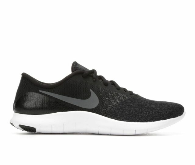 18179fa56f4 Nike Flex Contact 908983-002 Black Dark Grey White Men s Running Shoes ...