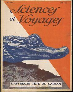 Sciences-et-voyages-284-du-05-02-1925-Caiman-Nouvelle-Caledonie-Chalcographie