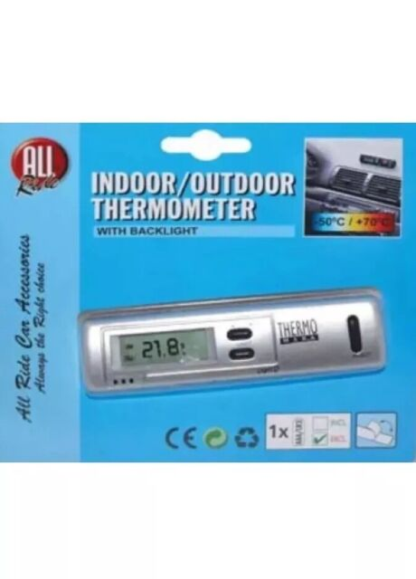 All Ride Indoor Outdoor Thermometer