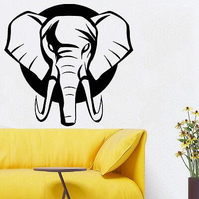 Wall Room Decor Art Vinyl Sticker Mural Decal Elephant