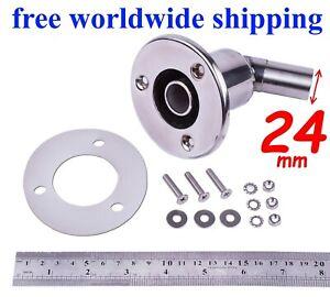 Stainless-steel-thru-hull-exhaust-skin-fitting-24mm-sim-to-Webasto-Eberspacher