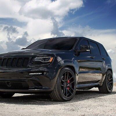 Black Grand Cherokee >> 20x10 5 Velgen Vmb5 Black Concave Wheels Rims For Jeep Grand Cherokee Dodge Ebay