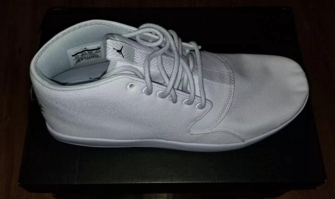 Nike AIR JORDAN Eclipse Chukka Mens shoes Size 11.5 White (881453-100)