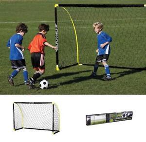 HonnêTe 1 De Franklin Sports Blackhawk Insta-set Portable Soccer Goal - 6 X 4 Ft (environ 1.22 M)-afficher Le Titre D'origine