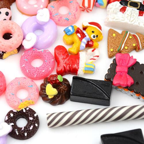 30Pcs 1:12 Dollhouse Miniature Food Home Craft Ornament Doll Dessert Kids Toy HI