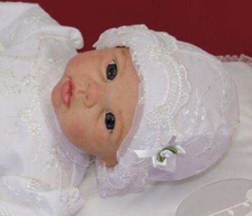 Nr.0mb29-4 Gr.62 Mütze Babymütze  zu jedem festlichen Outfit Richtig süß-NEU