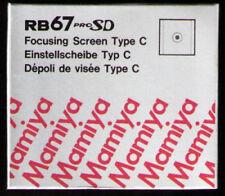 MAMIYA RB67  Mattscheibe Typ C --- focusing screen type C microprism  Neu / New