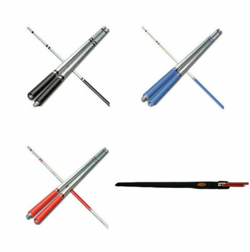 Elite Competition Bo Staff with Carrying Case  Martial Arts Weapons Fighting Gear  free shipping