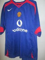 Manchester United Man Utd Away 2004-2005 Football Shirt Large /5948