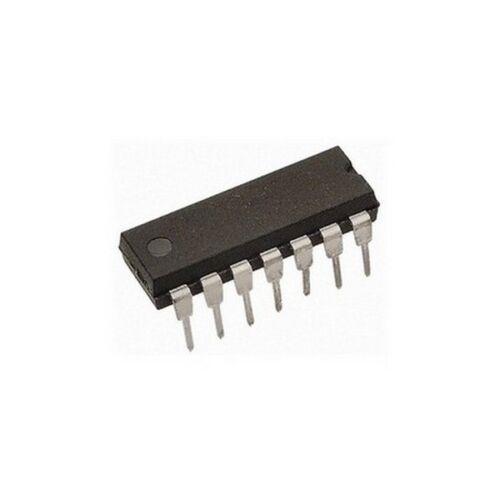 CA324E Quad High Gain Operational Amplifier Genuine RCA x 5 14 pin DIL