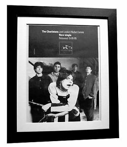 THE-CHARLATANS-Just-Lookin-POSTER-AD-ORIGINAL-1995-FRAMED-EXPRESS-GLOBAL-SHIP