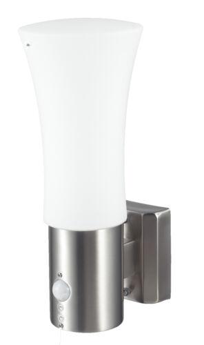 Aussenleuchte Aussenwandleuchte Aussenlampe Gartenlampe LED E27 Edelstahl Lampe