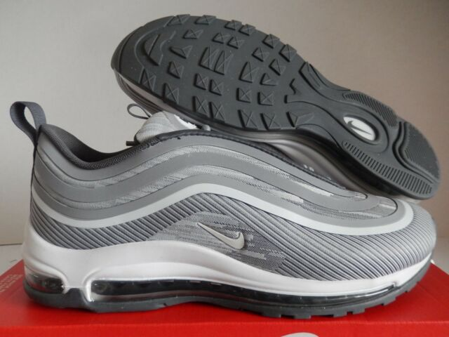 Nike Air Max 97 UL '17 Wolf Grey Dark Grey White Men's Running Shoes 918356 007