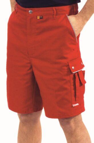 2177 Planam Arbeitsshorts Canvas 320 Arbeitshose kurz rot rot NEU