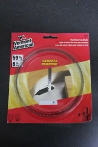Image Is Loading VERMONT AMERICAN WOOD BAND SAW BLADE GENERAL PURPOSE