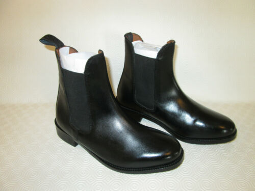 Lined Leather Chelsea amp;uppers 100 Boots equestrian Jodhpur Riding horse Ladies wY8zEnx0