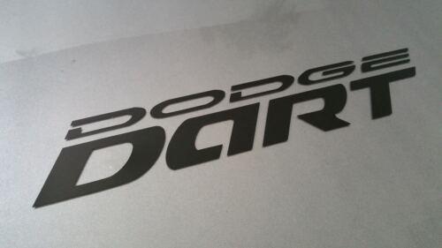 2013-2017  Dodge Dart door logo decal sticker set