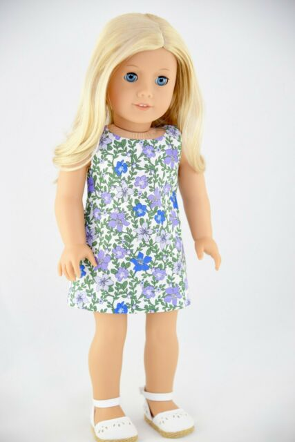 """American Girl ADDY SUNDAY BEST for 18/"""" Dolls Purple Hat Fancy Clothes Dress NEW"""