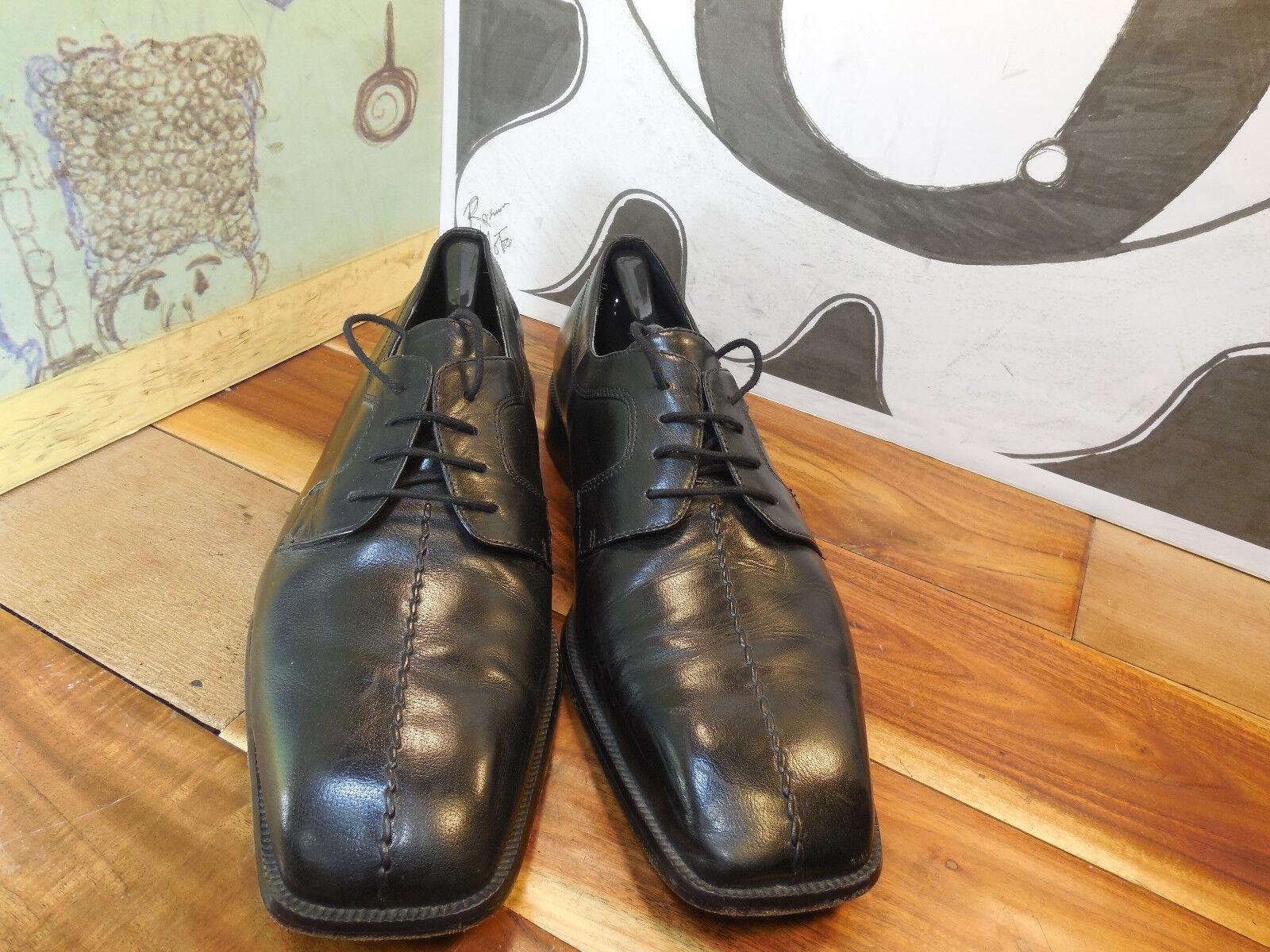 Giorgio Brutini Private Collection Men's Black Leather Center Seam Oxfords Men's Collection 14M 61e175