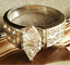 thumbnail 2 -  Solitaire Cocktail Ring Size  10 Silver Plated Cubic Zirconia NWT