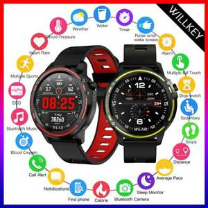 Orologio-Smartwatch-Sportivo-Militare-Android-Ios-Bluetooth-Impermeabile-Ip68