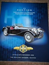 H & H AUCTION CATALOGUE 2008 RENAULT ALPINE ARNOLT BRISTOL MCLAREN M3A TICKFORD