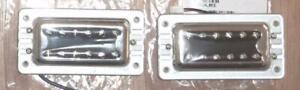 Gretsch Blacktop Filtertron Pickup Set~Chrome~G5400~Solderless Wiring~Brand New