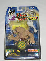 Duel Masters Fear Fang Action Figure With Bone Smash Attack. On Card 2003