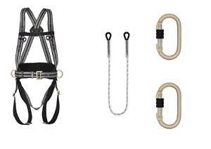Klettergurt Seil : Set kratos punkt sicherheitsgurt klettergurt inkl seil m