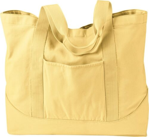 QF1084 ZUZIFY Pigment-Dyed Large Cotton Canvas Tote Bag
