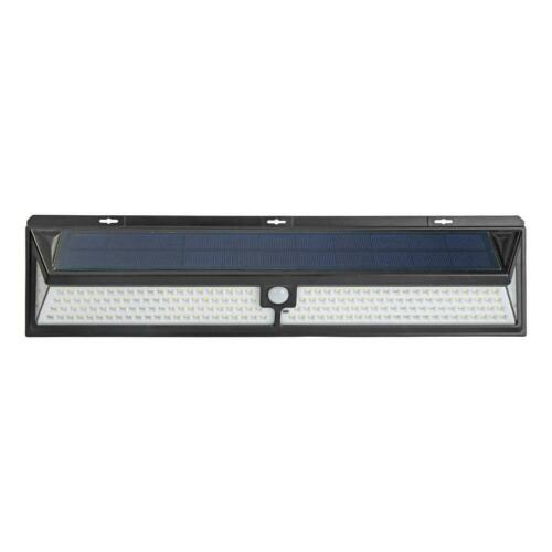 184 248LED Solarleuchte Bewegungsmelder Solarstrahler Außenleuchte Gartenlampe