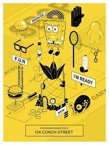 MONDO-Poster-SpongeBob-SquarePants-Version-2-by-Janice-Chu