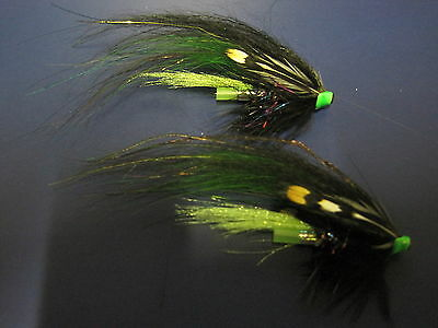 Alec Jackson Spey Fly Hook Blue Finish Hook Qty 10 Daiichi 2059 #7