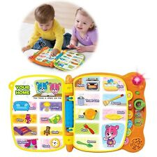 Kids Learning Educational Toys Toddlers 100 Word Book Interactive Reading Gift