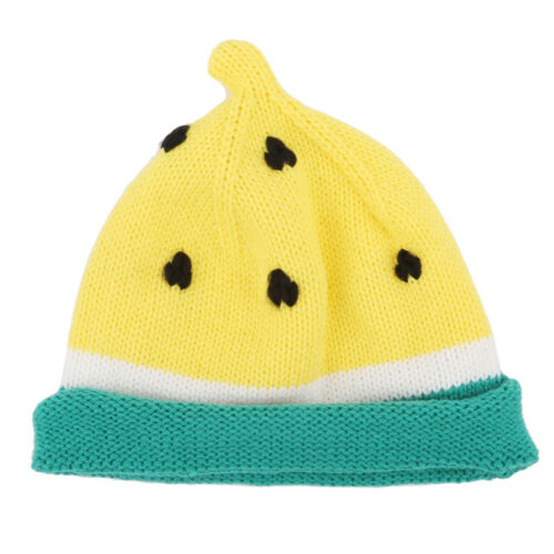 Soft Kids Hats Cute Watermelon Fruit Soft Design Warm Knitted  Beanie Cap MA