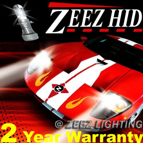ZEEZ Slim HID Xenon Conversion Kit High Hi-Beam Bulb 6000K 8K 10K 12K 9004 9007