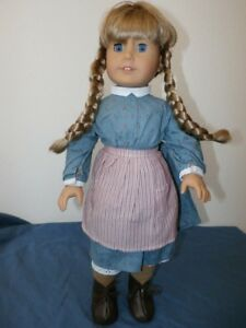 American Girl Doll Kirsten Retired Pleasant Company Work Outfit Dress ONLY PC
