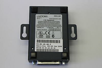 Lantronix EDS1100 1 Port Secure Device Server 080-409-000-R With Warranty
