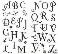 Inkadinkado Clear Stamps Coffee House Alphabet Pretty