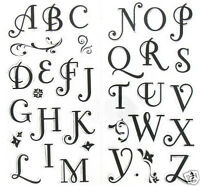 Inkadinkado Clear Stamps Coffee House Alphabet Pretty
