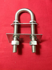 1-2-034-STAINLESS-STEEL-BOW-STERN-EYE-U-BOLT-LARGE-BACKING-PLATE-BOAT-33730